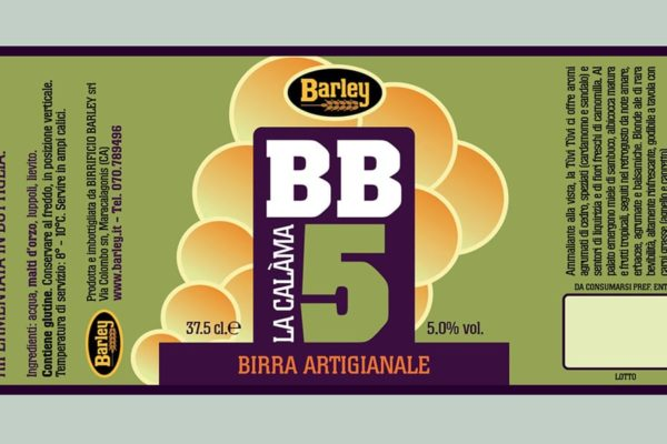 Birrificio Barley - etichetta BB 5