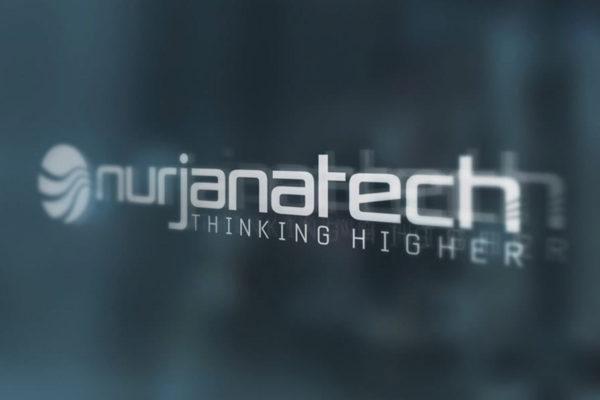 Logo NurjanaTech- logo e immagine coordinata