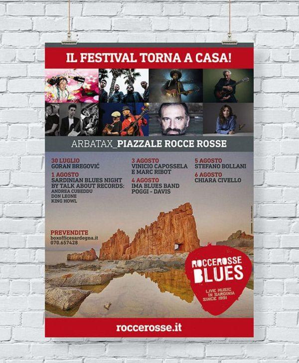 Festival RocceRosse Blues - manifesto
