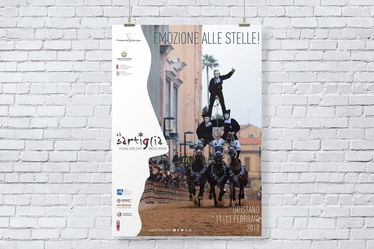 Sa Sartiglia Oristano - manifesto 02