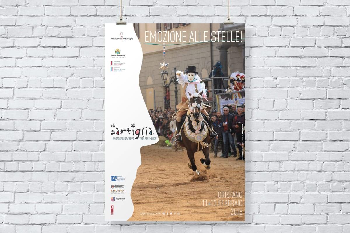 Sa Sartiglia Oristano - manifesto 03