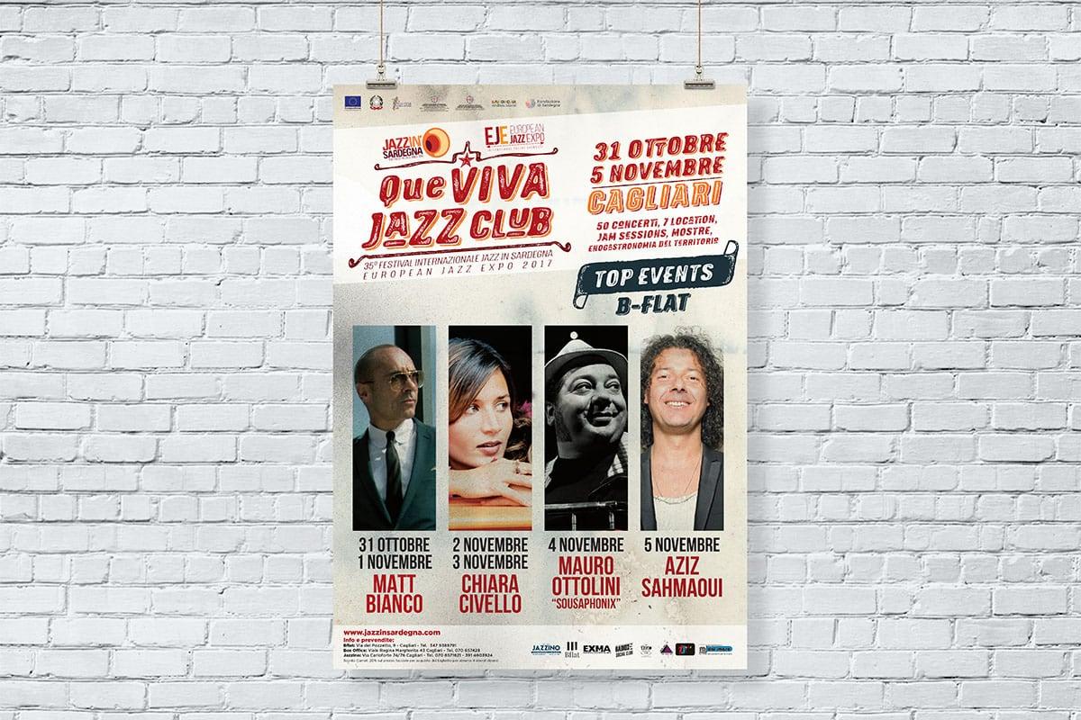 Jazz in Sardegna - manifesto