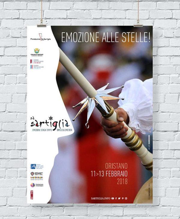Sa Sartiglia Oristano - manifesto 01